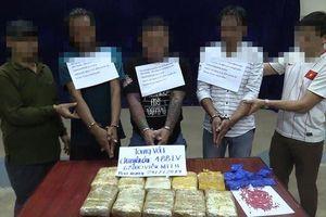 Bắt 3 đối tượng vận chuyển trái phép 62.000 viên ma túy ở Hà Tĩnh