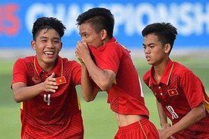 U15 Việt Nam giành chiến thắng đậm ở giải U15 Đông Nam Á