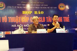 Hơn 1600 VĐV tranh tài ở Giải võ thuật các CLB Tài Năng Trẻ Việt Nam