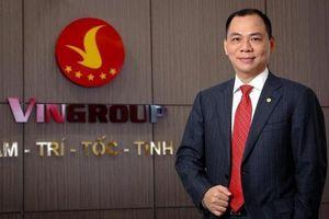 Tài sản tăng 150 triệu USD trong 3 ngày, ông chủ Vingroup lọt Top 200 thế giới