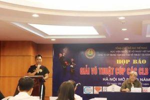 Giải thi đấu võ thuật tranh Cúp Tài năng trẻ Việt Nam chuẩn bị khởi tranh