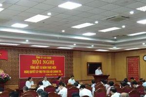 Tỉnh ủy Lai Châu Tổng kết 15 năm thực hiện Nghị quyết số 37-NQ/TW của Bộ Chính trị