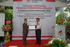 Chính thức ra mắt Phân hiệu Trường Cao đẳng Quốc tế Pegasus tại Hà Nội