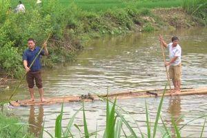 Lũ ống cuốn mất tích một người tại Lào Cai