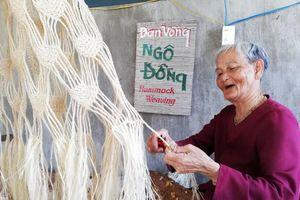 Mai một nghề đan võng ngô đồng ở xứ Cù lao