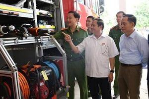 Tăng cường giám sát công tác phòng cháy, chữa cháy trên địa bàn tỉnh Hà Tĩnh