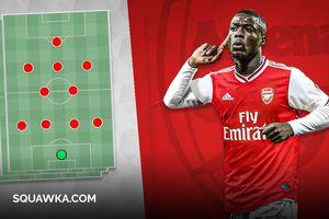 Đội hình tối ưu của Arsenal nếu chiêu mộ thành công Nicolas Pepe