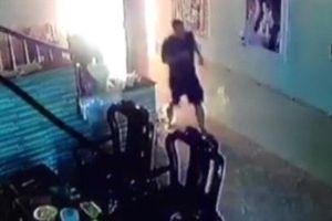 Kẻ phóng hỏa đốt nhà bạn gái bị bắt khi đang lẩn trốn trong khách sạn ở TP Vinh