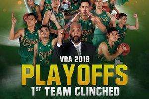 Cantho Catfish chính thức lọt vào Playoffs mùa giải VBA 2019