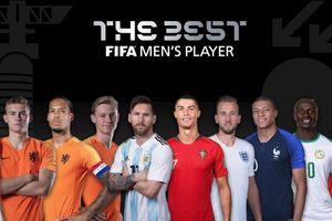 10 đề cử 'FIFA The Best' 2019: Ronaldo đấu dàn sao Hà Lan và Liverpool