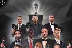 Luka Modric vắng mặt trong đề cử 'FIFA The Best' 2019