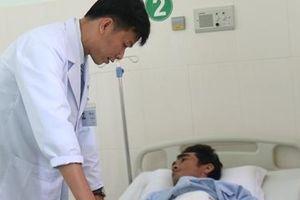 Bác sĩ cứu sống bệnh nhân vỡ lách do tai nạn