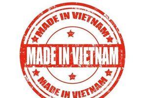 Bộ Công Thương lấy ý kiến về tiêu chí hàng 'made in Vietnam'