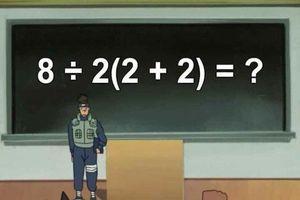 Bài toán đơn giản này đang 'gây lú' dân mạng khắp thế giới
