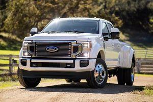Lộ diện sức mạnh siêu bán tải Ford Super Duty 2020