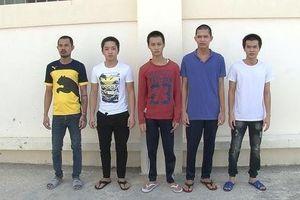 Tạm giam 5 thanh niên sát hại người cà khịa trên bàn nhậu