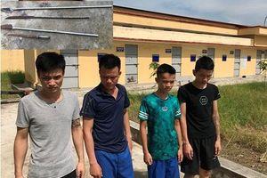 Thái Bình: Khởi tố 4 đối tượng mang hung khí đi cướp tài sản