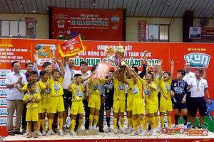 Đánh bại Hà Nội, SLNA lần thứ 3 liên tiếp vô địch Nhi đồng toàn quốc