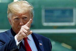 Thất vọng với thái độ của Trung Quốc, Tổng thống Mỹ thề trừng phạt tất tay