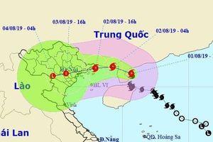 Tâm bão số 3 đổ bộ vào Hải Phòng, Quảng Ninh, Hà Nội được cảnh báo mưa lớn