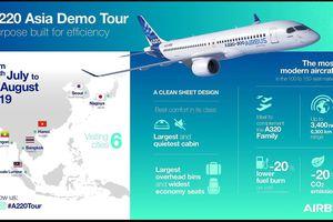 Airbus A220-300 trong tầm ngắm của các hãng hàng không Việt Nam