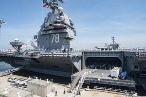 Mỹ thừa nhận về siêu tàu sân bay R. Ford
