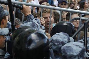 Nga điều tra biểu tình Moscow: Bất ngờ kết quả