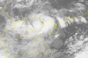 Bão số 3 đã suy yếu thành áp thấp nhiệt đới