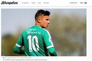 Cầu thủ Việt kiều Alex Đặng tiếp tục tìm cơ hội lọt vào 'mắt xanh' thầy Park