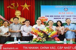 Ông Nguyễn Đình Thông tái cử Chi hội trưởng Nghệ sỹ Nhiếp ảnh Hà Tĩnh