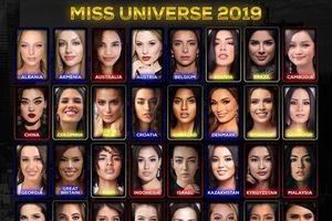 Hot: Hoàng Thùy bất ngờ lọt top 5 thí sinh được yêu thích nhất Miss Universe 2019