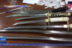 Bắt đường dây mua bán ma túy tàng trữ nhiều vũ khí