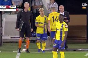 Club Brugge 6-0 Sint-Truidense: Công Phượng ra mắt kém vui