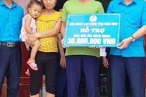 Ninh Bình: Hỗ trợ xây nhà cho công nhân nghèo