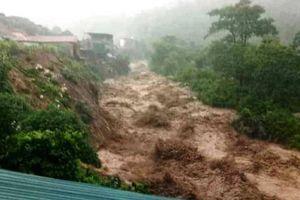 Đi hỗ trợ di dân, một trưởng công an xã ở huyện Mường Lát bị đất vùi lấp