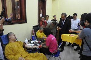 Phó Thủ tướng Trương Hòa Bình tham dự Ngày hội Hiến máu cứu người - Hành Bồ Tát đạo
