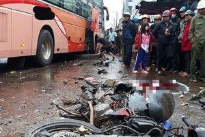 Nhân chứng nức nở kể lại giây phút xe khách lao vào chợ làm 4 người chết