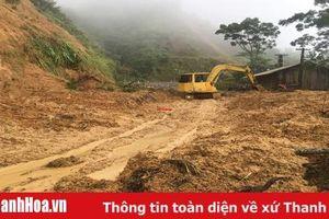 Những hình ảnh trên tuyến đường từ Quan Hóa đi Mường Lát sau cơn bão số 3