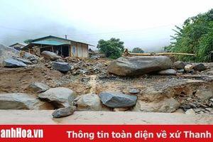 Quốc lộ 15C sạt lở nghiêm trọng, huyện Mường Lát chưa thoát cảnh cô lập