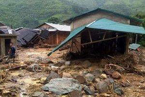 Mưa lũ sau bão số 3 khiến 2 người chết, 13 người mất tích