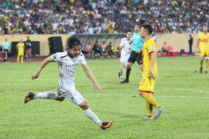 Vòng 19 V-League 2019: Nam Định hòa kịch tính HAGL tại Thiên Trường