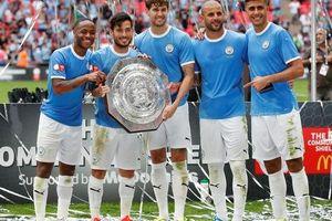 Thủ môn Bravo tỏa sáng, Man City bùng nổ ở Siêu cúp Anh