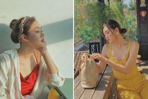 Bất ngờ gu thời trang 'chanh xả' quyến rũ nuột nà của Á hậu Tường San
