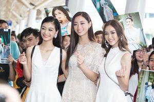 Top 3 Miss World Việt Nam khoe nhan sắc rạng rỡ sau đêm đăng quang
