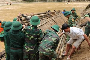 Dốc toàn lực hỗ trợ nhân dân vùng lũ Thanh Hóa