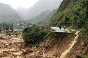 6 người chết, 14 người mất tích trong mưa lũ sau cơn bão số 3