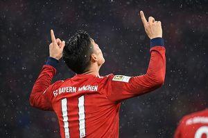 Real Madrid đạt thỏa thuận để James Rodriguez ra đi