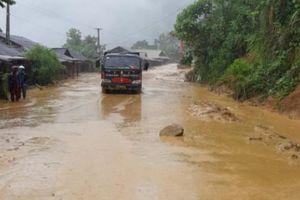 Mưa lũ ở Thanh Hóa: Huyện Mường Lát vẫn bị cô lập, 3 người chết và mất tích