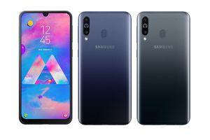 Samsung Galaxy M30 lên kệ Việt: 3 camera sau, pin 5.000mAh, sạc nhanh 15W