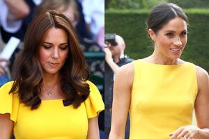 Không hẹn mà gặp, công nương Meghan và Kate liên tục diện quần áo như chị em sinh đôi